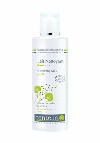 cleansing milk bottle centella