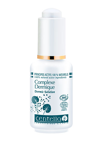 centella dermic solution glass bottle product