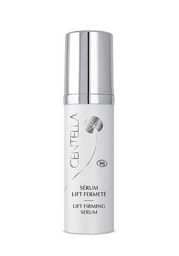 Lift firming serum centella product white bottle silver lid