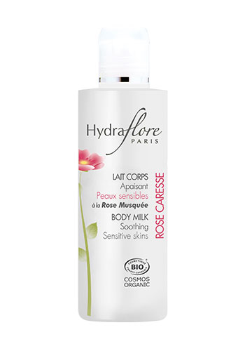 hydraflore body milk soothing product